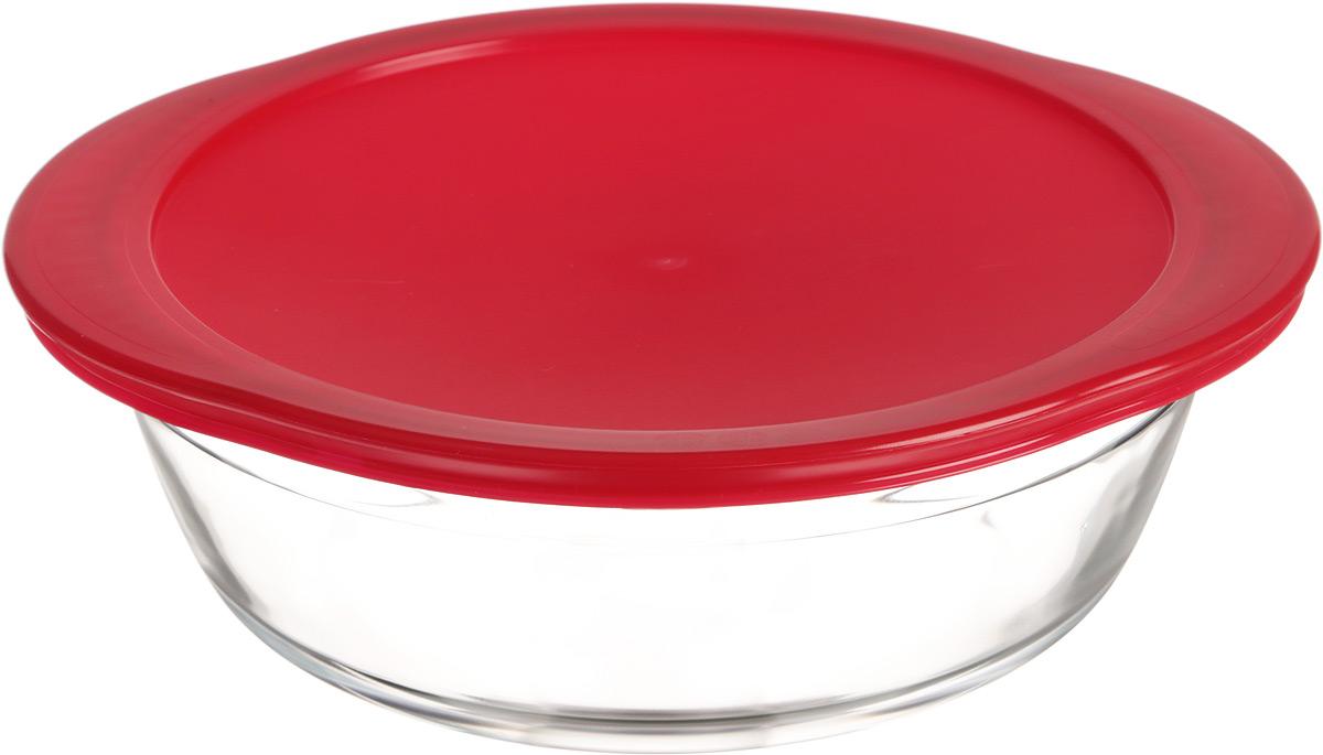 Форма для запекания Pyrex O Cuisine, круглая, с крышкой, 26 х 23 см208PC00Форма Pyrex O Cuisine изготовлена из прозрачного жаропрочного стекла. Непористая поверхность исключает образование бактерий, великолепно моется. Изделие идеально подходит для приготовленияв духовом шкафу. Выдерживает перепад температур от -40°C до +300°C.Форма Pyrex O Cuisine подходит для использования в микроволновой печи, приготовления блюд в духовке, хранения пищи в холодильнике. Можно мыть в посудомоечной машине. Размер формы (по верхнему краю): 26 см х 23 см.Высота формы: 8 см.