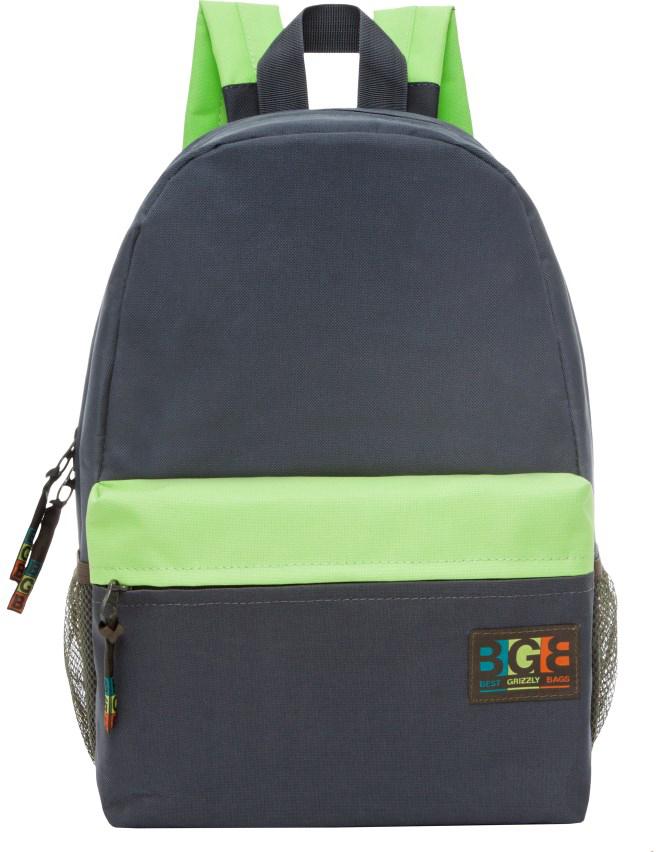 Рюкзак городской женский Grizzly, цвет: серый, салатовый. RD-750-5/4 рюкзак городской женский grizzly цвет хаки 16 л rd 533 1 4