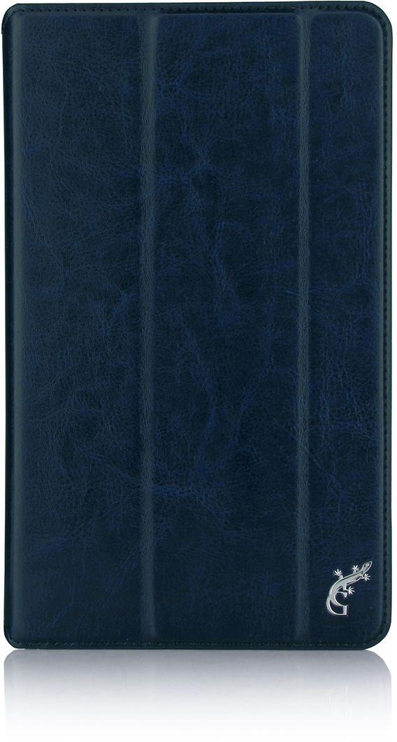 G-case Executive чехол для Lenovo Tab 3 Plus 8.0 8703X/8703F, Dark Blue чехол для lenovo tab 3 tb3 730x g case executive черный