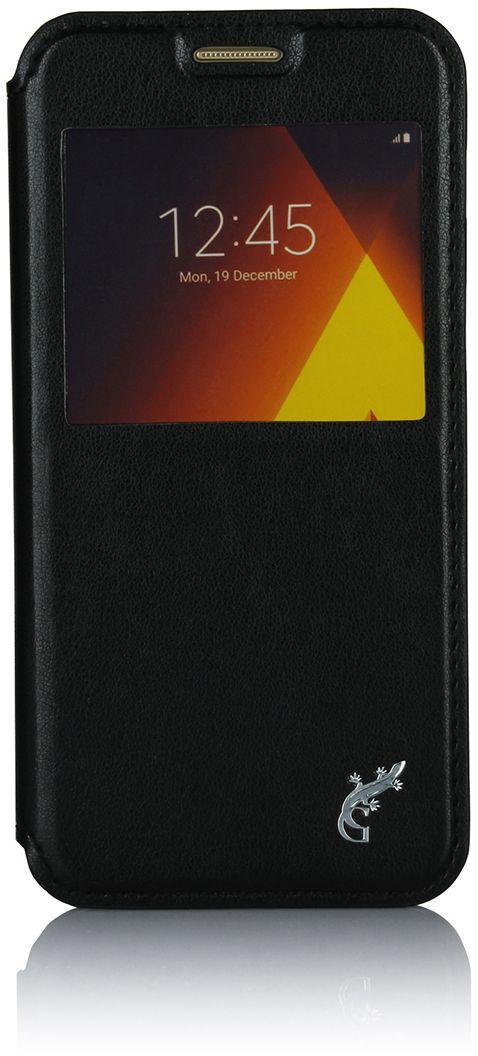 G-case Slim Premium чехол для Samsung Galaxy A3 (2017) SM-A320F, BlackGG-795Чехол G-Case Slim Premium для Samsung Galaxy A3 (2017) - это стильный и лаконичный аксессуар, позволяющий сохранить устройство в идеальном состоянии. Надежно удерживая технику, обложка защищает корпус и дисплей от появления царапин, налипания пыли. Имеет свободный доступ ко всем разъемам устройства.