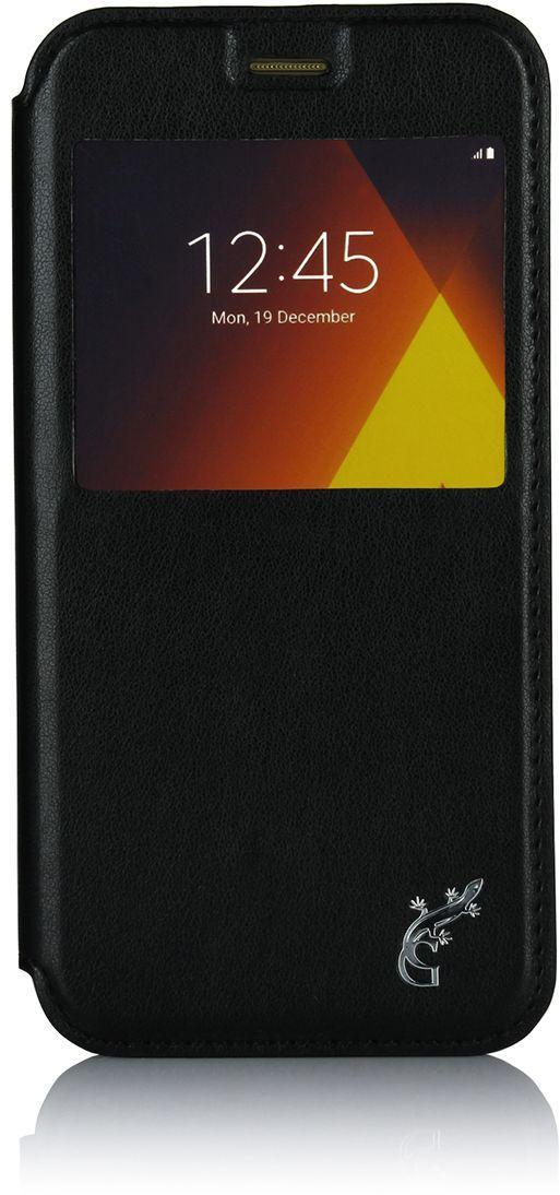 G-case Slim Premium чехол для Samsung Galaxy A5 (2017) SM-A520F, BlackGG-796Чехол G-Case Slim Premium для Samsung Galaxy A5 (2017) - это стильный и лаконичный аксессуар, позволяющий сохранить устройство в идеальном состоянии. Надежно удерживая технику, обложка защищает корпус и дисплей от появления царапин, налипания пыли. Имеет свободный доступ ко всем разъемам устройства.