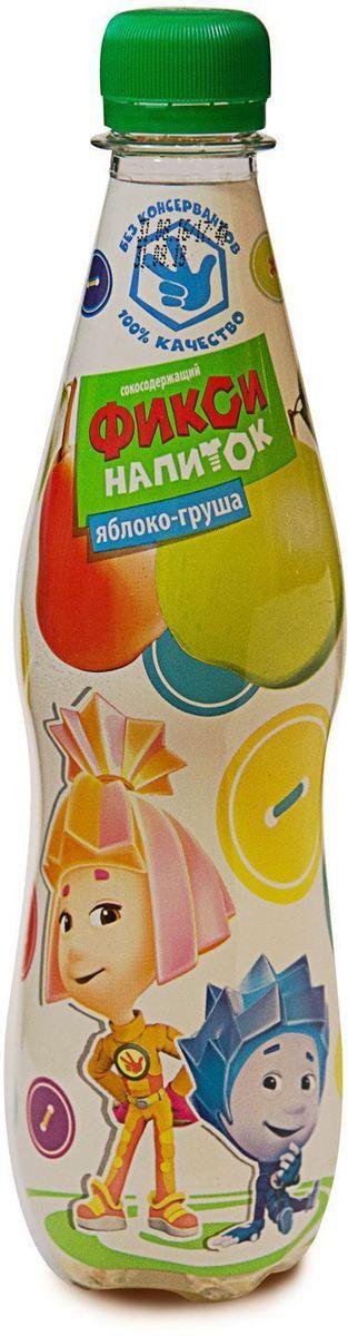 Фиксики Яблоко Груша детский сокосодержащий напиток, 0,4 л обувь бекенбергер