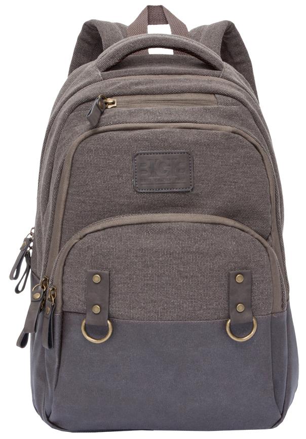 Рюкзак городской мужской Grizzly, цвет: коричневый. RU-703-1/2 рюкзак городской мужской grizzly цвет красный ru 715 2 3