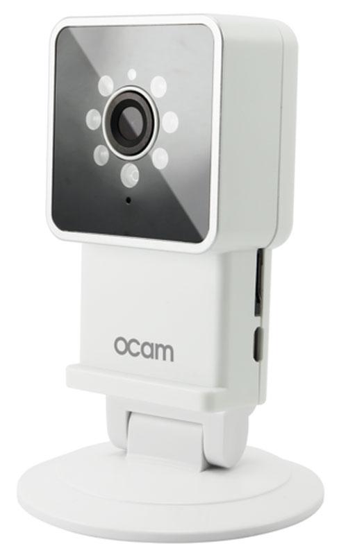 OCam-M3, White IP-камераOCAM-M3+WhiteС камерой OCam-M3 у вас появится возможность присмотреть за своим домом, маленьким ребенком, пожилыми людьми и даже домашним питомцем.Строгий дизайн и удобная для дома или офиса камера наблюдения. Инженеры предусмотрели различные сценарии использования камеры, поэтому пользователю доступны несколько режимов работы. Переключаться между ними можно в один клик. Записанные видеофайлы и фотографии сохраняются на карту памяти microSD. Когда возникает движение или звук, камера активирует системы распознавания, после чего вы сразу получите уведомление в виде звонка или письма на электронную почту.Благодаря инфракрасной подсветке вы получите четкое изображение даже в условиях плохого освещения. Широкий угол обзора в 120° дает больший охват получаемого изображения, поэтому вы сможете наблюдать, к примеру, не только за ребенком, но и за окружающей его обстановкой во всей комнате.Наличие встроенного микрофона и динамика позволяет вам общаться с помощью камеры OCam-M3 даже дистанционно.Установите фирменное приложение OCam App на ваше мобильное устройство, настройте его и менее чем через три минуты вы сможете вести наблюдение в режиме реального времени в высоком качестве изображения 720p.