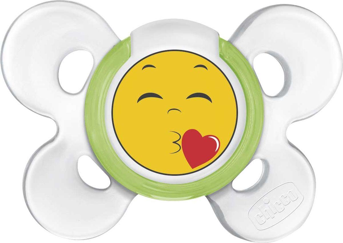 Chicco Пустышка Physio Comfort Smile 6-12 месяцев