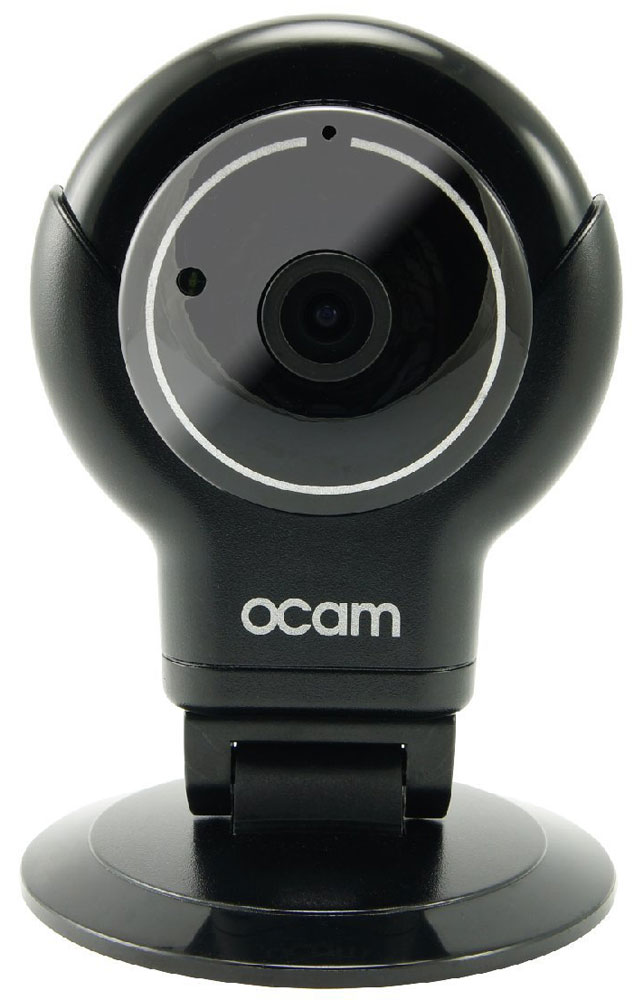 OCam-S1, Black IP-камераOCAM-S1-BlackС камерой OCam-S1 у вас появится возможность присмотреть за своим домом, маленьким ребенком, пожилыми людьми и даже домашним питомцем.Приятный дизайн и удобная для дома или офиса камера наблюдения. Инженеры предусмотрели различные сценарии использования камеры, поэтому пользователю доступны несколько режимов работы. Переключаться между ними можно в один клик. Записанные видеофайлы и фотографии сохраняются на карту памяти microSD. Когда возникает движение или звук, камера активирует системы распознавания, после чего вы сразу получите уведомление в виде звонка или письма на электронную почту.Благодаря инфракрасной подсветке вы получите четкое изображение даже в условиях плохого освещения. Широкий угол обзора в 120° дает больший охват получаемого изображения, поэтому вы сможете наблюдать, к примеру, не только за ребенком, но и за окружающей его обстановкой во всей комнате.Наличие встроенного микрофона и динамика позволяет вам общаться с помощью камеры OCam-S1 даже дистанционно.Установите фирменное приложение OCam App на ваше мобильное устройство, настройте его и менее чем через три минуты вы сможете вести наблюдение в режиме реального времени в высоком качестве изображения 720p.