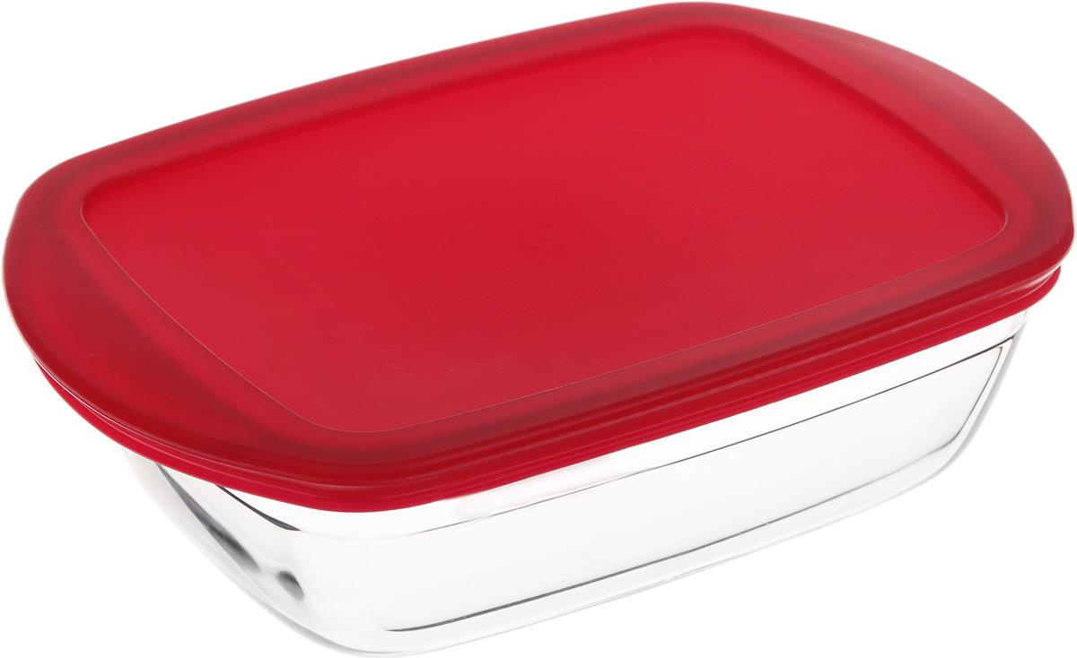 Форма для запекания Pyrex O Cuisine, прямоугольная, с крышкой, 23 х 15 см сковорода pyrex 30cm et30bfx 6 1294222