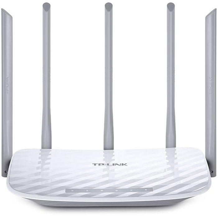 TP-Link Archer C60 Wi-Fi роутерArcher C60AC1350 Беспроводной двухдиапазонный маршрутизатор, QCA (Atheros), скорость Wi-Fi до 867 Мбит/с на 5 ГГц и до 450 Мбит/с на 2,4 ГГц, 802.11ac/a/b/g/n, 1 порт WAN и 4 порта LAN 10/100 Мбит/с, 5 фиксированных антенн, кнопки вкл/выкл Питания и Wi-Fi, WPS/Reset, поддержка L2TP/PPTP/PPPoE Россия, веб-интерфейс управления, руководство и коробка на русском языке, поддержка IGMP Proxy, режима мост и 802.1Q TAG VLAN для услуги IPTV.