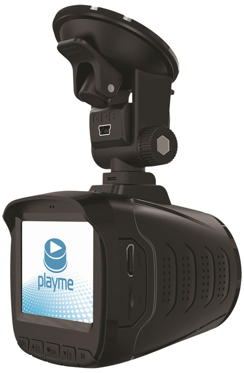 PlayMe P350 Tetra видеорегистратор с радар-детектором