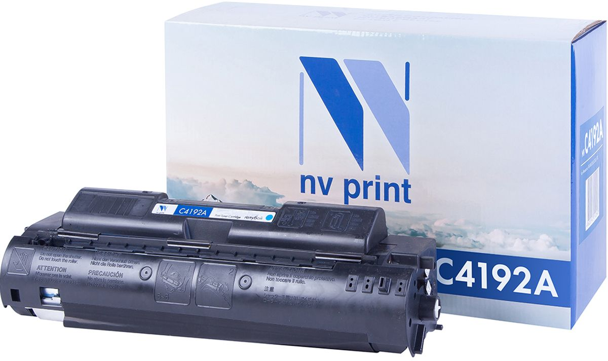 NV Print C4192AC, Cyan тонер-картридж для НР LaserJet 4500/4550 nv print cf303a magenta тонер картридж для hp laserjet enterprise flow mfp m880z m880z plus m880z plus nfc