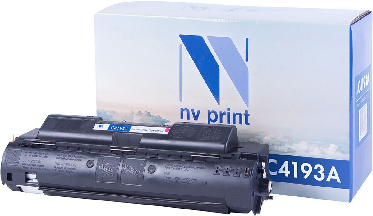 NV Print C4193AM, Magenta тонер-картридж для НР LaserJet 4500/4550 nv print cf303a magenta тонер картридж для hp laserjet enterprise flow mfp m880z m880z plus m880z plus nfc