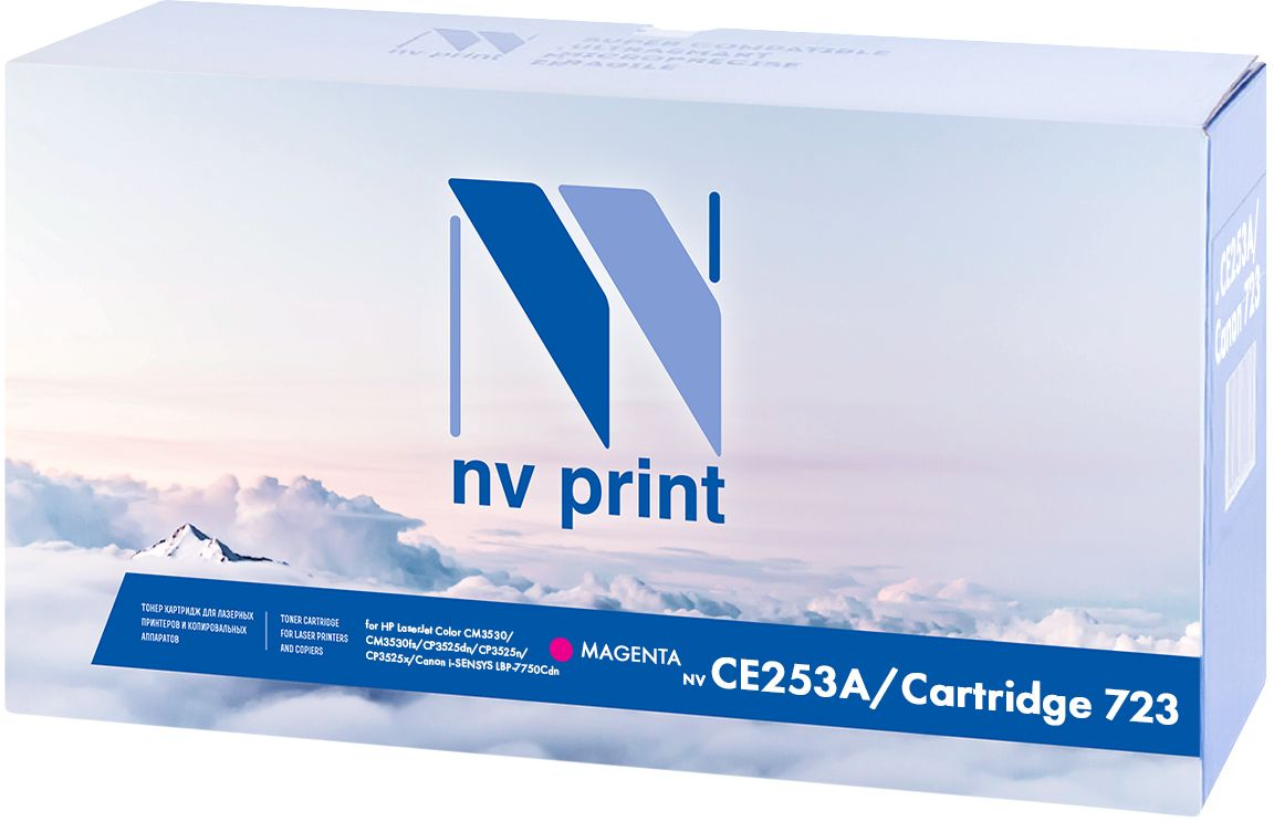 NV Print CE253A/723M, Magenta картридж для Samsung ML-3710/3712/SCX-5637/5639/5737/5739 nv print cf303a magenta тонер картридж для hp laserjet enterprise flow mfp m880z m880z plus m880z plus nfc
