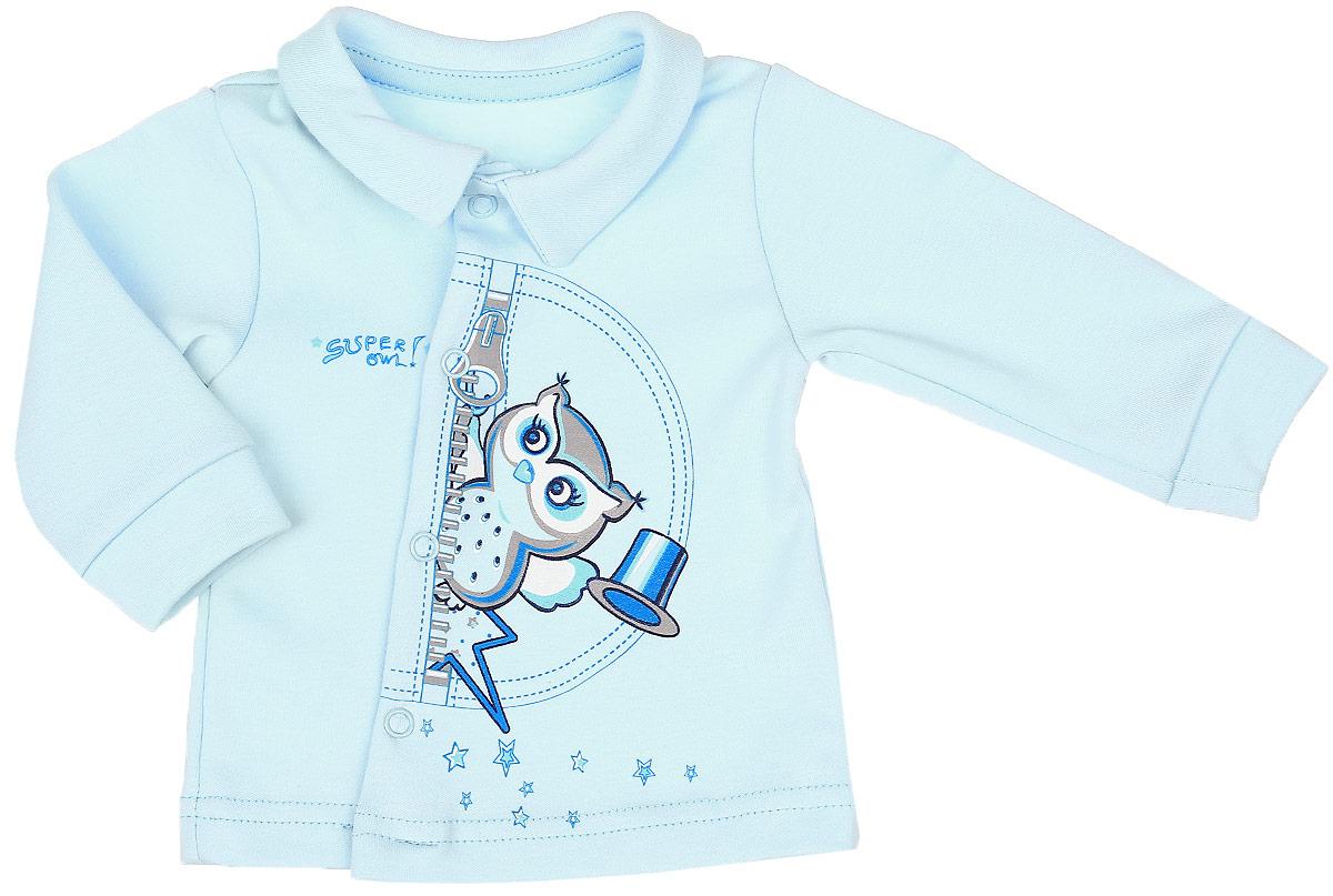 Кофточка для мальчика СовенокЯ Совята, цвет: голубой. 2-2269. Размер 74 бур makita p 77958 sds max zentro