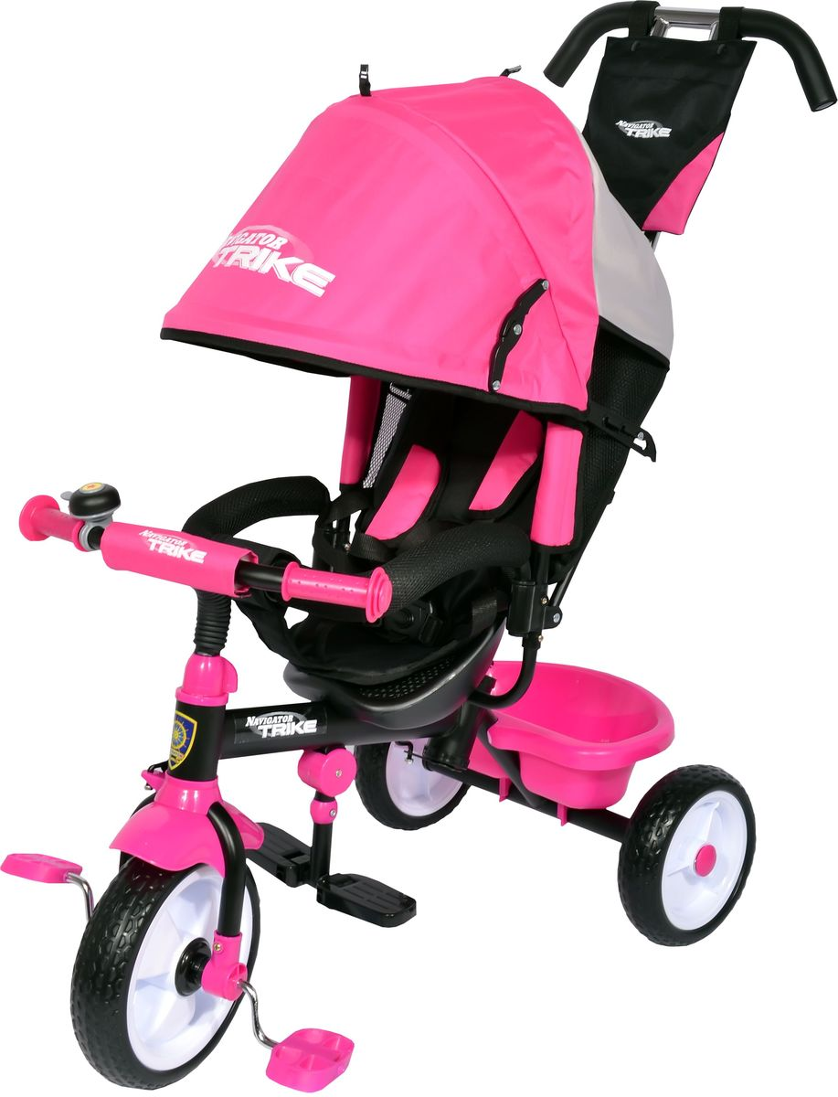 Navigator Велосипед трехколесный Lexus цвет розовый Т59711 велосипед для малыша navigator lexus safari trike т56790