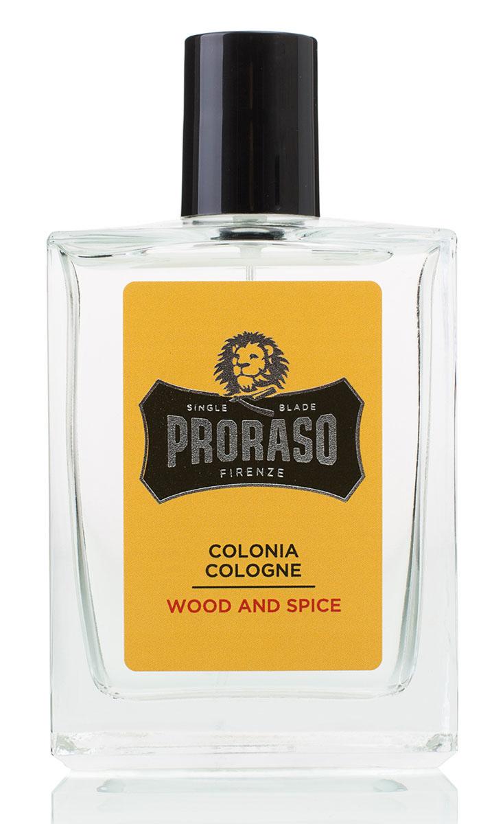 Proraso Одеколон Wood and Spice 100 мл400770Wood & Spice («Дерево и специи») - это гармоничная элегантность драгоценных пород дерева в эксклюзивном аромате, создающем оригинальную и мужественную ольфакторную ауру. Финальный штрих каждодневной рутины аутентичного ухода за собой.