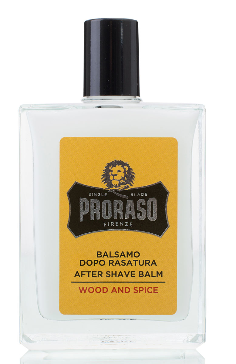 Proraso Бальзам после бритья Wood and Spice 100 мл для бритья proraso shaving foam moisturizing and nourishing formula объем 300 мл