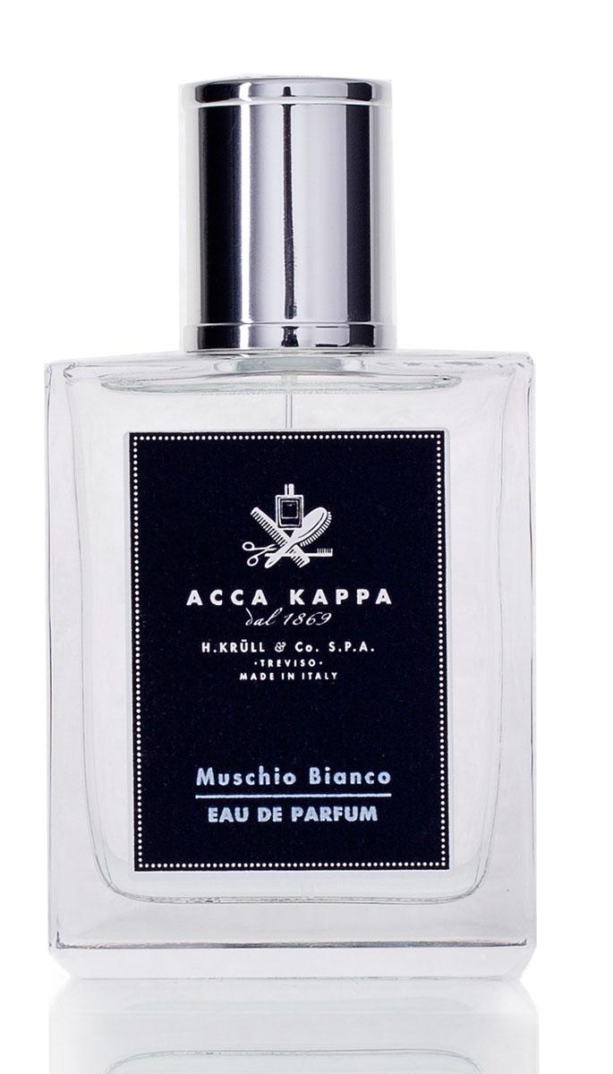Acca Kappa Парфюмерная вода Белый мускус 100 мл853473Аромат Muschio Bianco окружает тело свежестью итальянской весны. Гармоничное сочетание сладких, чувственных нот, легкой древесности, амбры и мускуса. Элегантая композиция для мужчин и женщин, созданная из деликатных, утонченных натуральных ингредиентов. Современная классика от Acca Kappa. Cодержит эфирные масла лимона, бергамота, кардамона, кедра, лаванды, ягод можжевельника и сладкого апельсина.