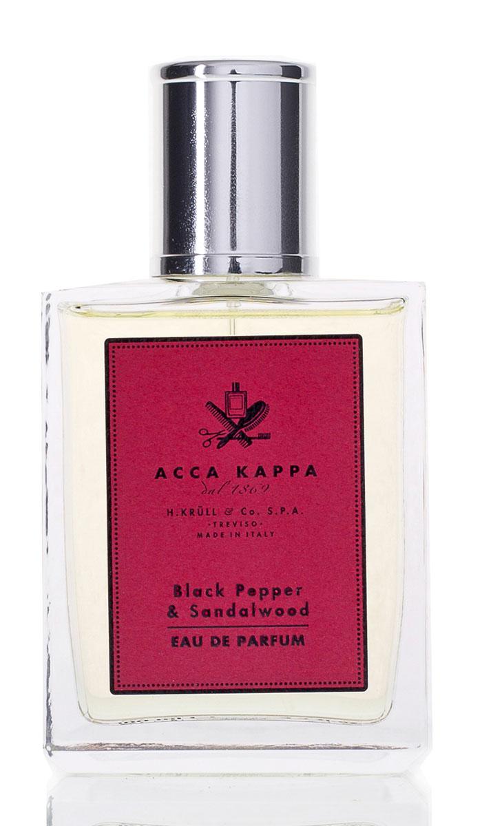 Acca Kappa Парфюмерная вода Черный перец и сандаловое дерево 100 мл853495Мягкая доза перца и шафрана – прекрасная прелюдия к древесному сердцу. В базе самый уютный сандал, который вы можете представить, припорошен гвоздикой, корицей и мускатным орехом. Black Pepper & Sandalwood – пряный и теплый, нежный и кремовый, комфортный и универсальный, совсем не тяжелый – одним словом, само совершенство. Содержит эфирные масла бергамота, элеми, полыни, пачули, ветивера, кедра, пихтового бальзама, гвоздики и корицы.Краткий гид по парфюмерии: виды, ноты, ароматы, советы по выбору. Статья OZON Гид
