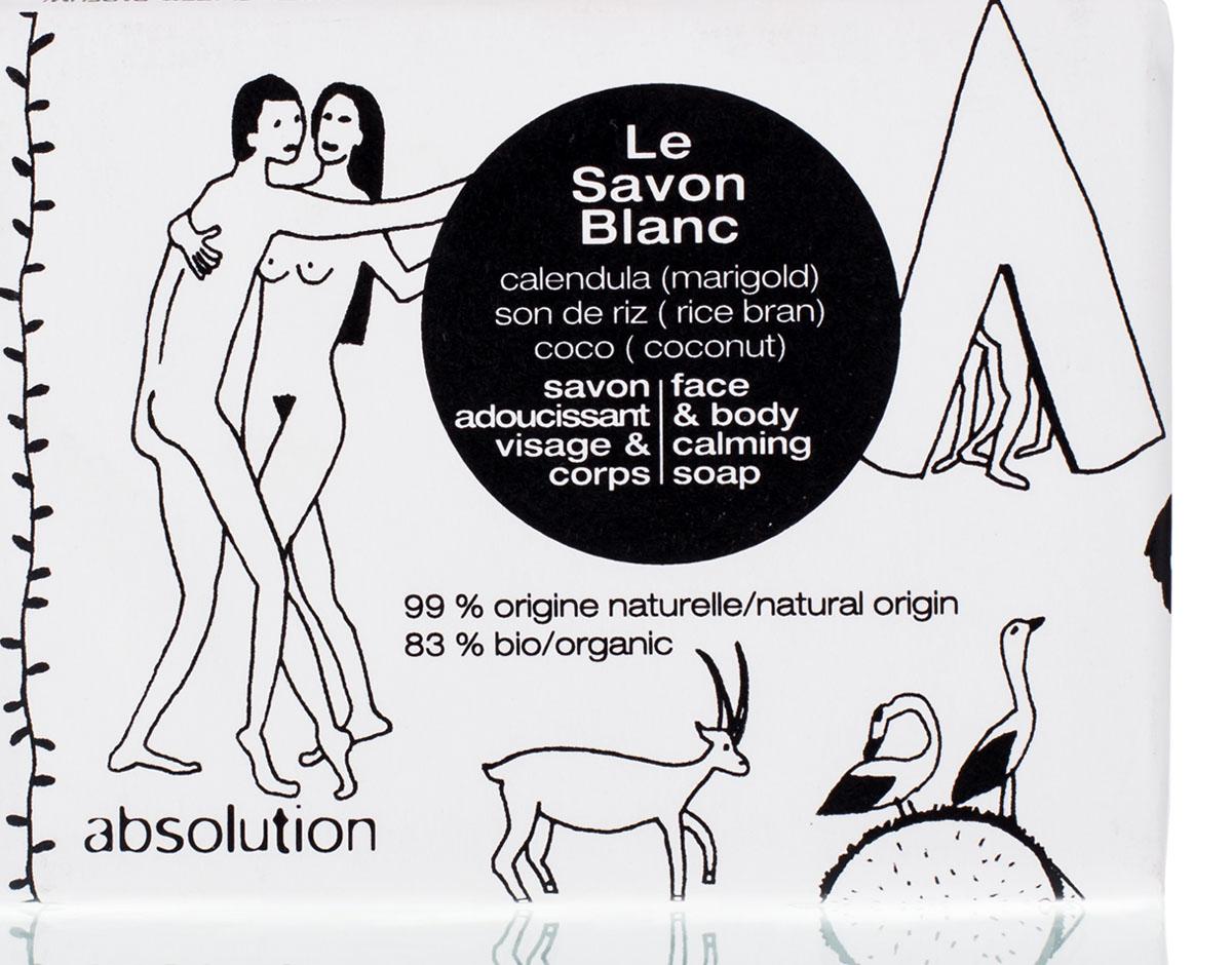 Absolution Мыло для лица и тела Le Savon Blanc 100 гр - Для мамы
