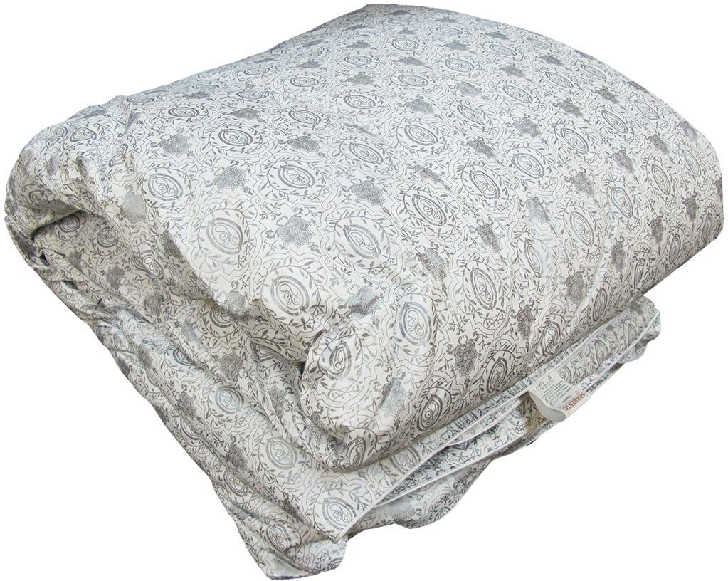 Одеяло Браво Standart Премиум Лидер, теплое, наполнитель: пух, цвет: светло-бежевый, 200 х 220 см27983