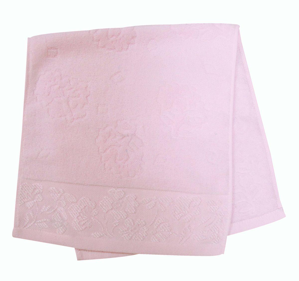 Полотенце махровое Bravo Ромашка, цвет: розовый, 33 х 70 см40707Полотенце Ромашка выполнено из натуральной махровой ткани (100% хлопок). Изделие отлично впитывает влагу, быстро сохнет, сохраняет яркость цвета и не теряет форму даже после многократных стирок.Полотенце очень практично и неприхотливо в уходе. Оно создаст прекрасное настроение и украсит интерьер в ванной комнате.