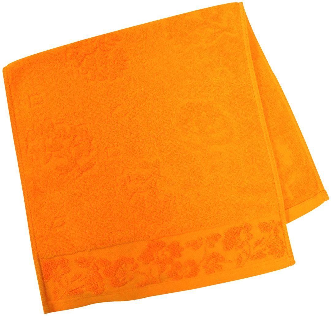 Полотенце махровое НВ Ромашка, цвет: оранжевый, 33 х 70 см. м0177_1540708Полотенце НВ Ромашка выполнено из натуральной махровой ткани (100% хлопок). Изделие отлично впитывает влагу, быстро сохнет, сохраняет яркость цвета и не теряет форму даже после многократных стирок. Полотенце очень практично и неприхотливо в уходе. Оно станет достойным выбором для вас и приятным подарком вашим близким.