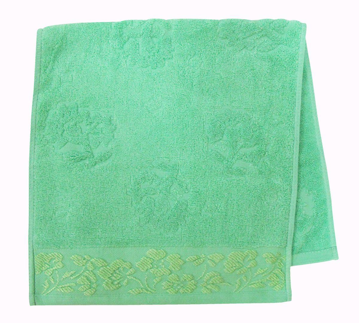 Полотенце махровое НВ Ромашка, цвет: зеленый, 33 х 70 см. м0177_0340709Полотенце НВ Ромашка выполнено из натуральной махровой ткани (100% хлопок). Изделие отлично впитывает влагу, быстро сохнет, сохраняет яркость цвета и не теряет форму даже после многократных стирок. Полотенце очень практично и неприхотливо в уходе. Оно станет достойным выбором для вас и приятным подарком вашим близким.