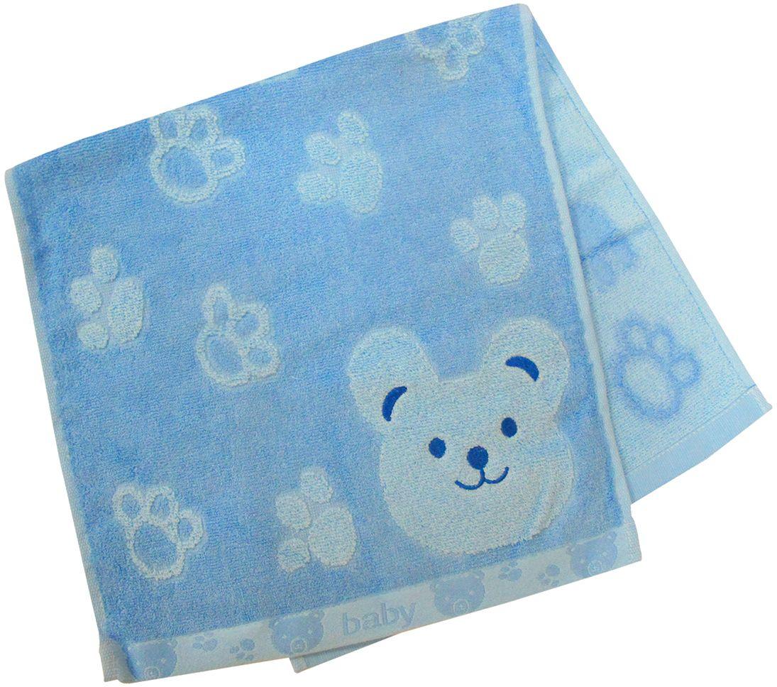 Полотенце махровое НВ Счастливый медведь, цвет: синий, 33 х 70 см. м0392_0155311Полотенце НВ Счастливый медведь выполнено из хлопка с добавлением бамбука. Изделие отлично впитывает влагу, быстро сохнет, сохраняет яркость цвета и не теряет форму даже после многократных стирок. Полотенце очень практично и неприхотливо в уходе. Оно станет достойным выбором для вас и приятным подарком вашим близким.