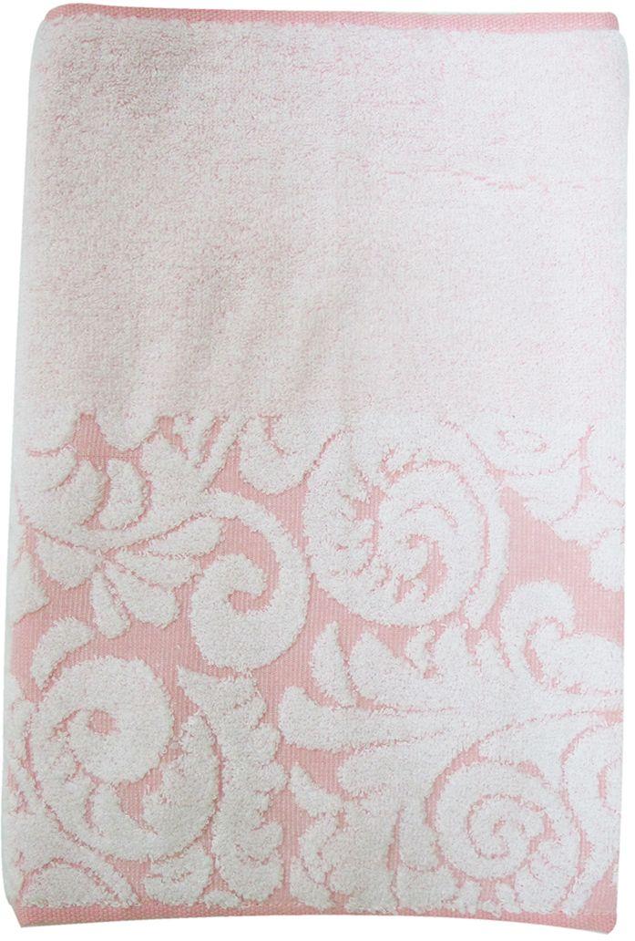 Полотенце махровое Bravo Версаль, цвет: розовый, белый, 33 х 70 см55736Полотенце Версаль выполнено из натуральной махровой ткани (100% хлопок). Изделие отлично впитывает влагу, быстро сохнет, сохраняет яркость цвета и не теряет форму даже после многократных стирок.Полотенце очень практично и неприхотливо в уходе. Оно создаст прекрасное настроение и украсит интерьер в ванной комнате.