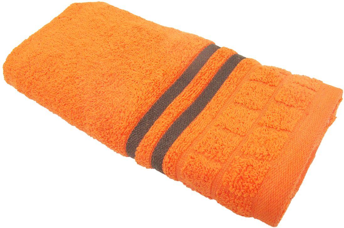 Полотенце махровое НВ Лана, цвет: оранжевый, 33 х 70 см. м1009_1370458Полотенце НВ  Лана выполнено из натуральной махровой ткани (100% хлопок). Изделие отлично впитывает влагу, быстро сохнет, сохраняет яркость цвета и не теряет форму даже после многократных стирок. Полотенце очень практично и неприхотливо в уходе. Оно станет достойным выбором для вас и приятным подарком вашим близким.