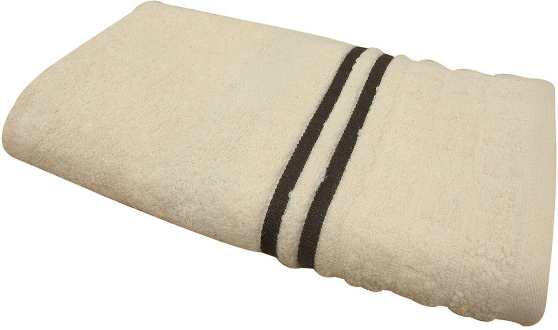 """Полотенце """"Лана"""" выполнено из натуральной махровой ткани (100% хлопок). Изделие отлично впитывает влагу, быстро сохнет, сохраняет яркость цвета и не теряет форму даже после многократных стирок.  Полотенце очень практично и неприхотливо в уходе. Оно создаст прекрасное настроение и украсит интерьер в ванной комнате."""