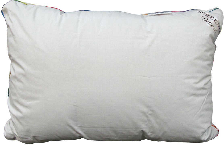 Подушка Сорренто Делюкс Гипноз, цвет: белый, 50 х 70 см80459Подушка Сорренто Делюкс Гипноз - мягкая и легкая подушка обеспечит вам здоровый и комфортный сон. Она отлично впитывают влагу, также без труда ее испаряет, а это значит, что в ней никогда не заведутся микробы и вредные бактерии. Подушка обеспечивает надежную поддержку шеи и головы. Кроме того, она постоянно поддерживает нужную температуру и дарит вам незабываемое чувство комфорта и умиротворения.