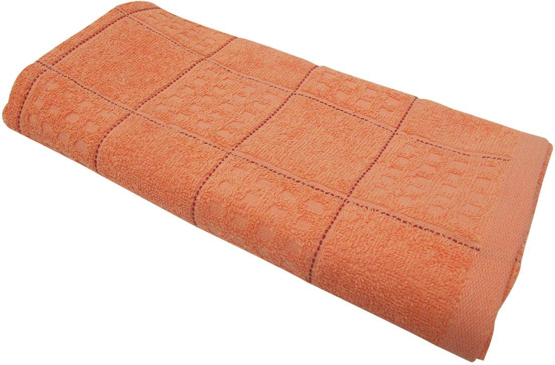 Полотенце махровое НВ Квадро, цвет: персиковый, 45 х 90 см. м1081_1280822Полотенце НВ Квадро выполнено из натуральной махровой ткани (100% хлопок). Изделие отлично впитывает влагу, быстро сохнет, сохраняет яркость цвета и не теряет форму даже после многократных стирок. Полотенце очень практично и неприхотливо в уходе. Оно станет достойным выбором для вас и приятным подарком вашим близким.