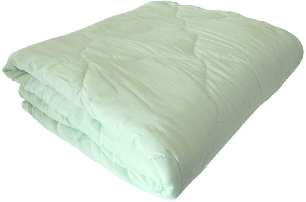 """Всесезонное одеяло Relax """"Bamboo"""" с наполнителем из кукурузного волокна прекрасно подойдет для холодных и для теплых ночей.   В нем используется новый высокотехнологичный наполнитель - кукурузное волокно, оно хорошо сохраняет тепло и при этом хорошо пропускает воздух.   Тело человека с такими постельными принадлежностями отлично дышит и не перегревается.   Ткань одеяла - микрофибра - не вызывает раздражения кожи, она прекрасно впитывает влагу, предотвращая парниковый эффект."""