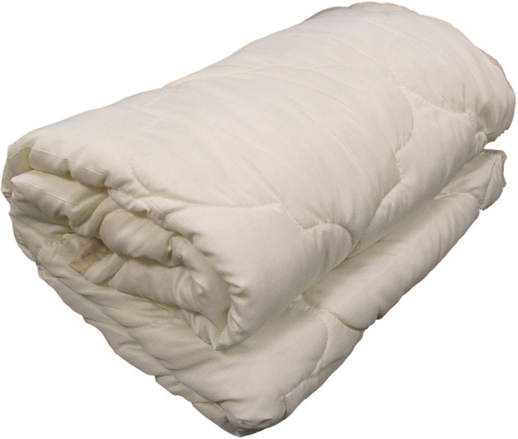 Одеяло Relax Wool, всесезонное, цвет: светло-бежевый, 200 х 220 см одеяло kazanov a luxury мulberry silk цвет слоновая кость 200 х 220 см