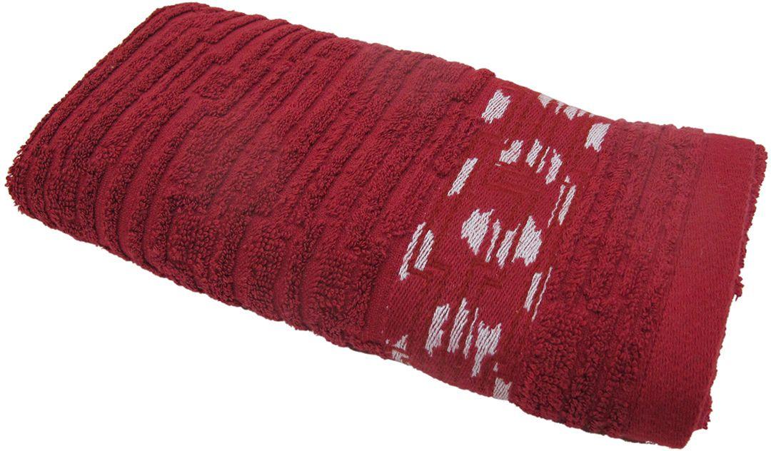 Полотенце махровое НВ Нюанс, цвет: бордовый, 33 х 70 см. м0667_1484578Полотенце НВ Нюанс выполнено из натуральной махровой ткани (100% хлопок). Изделие отлично впитывает влагу, быстро сохнет, сохраняет яркость цвета и не теряет форму даже после многократных стирок. Полотенце очень практично и неприхотливо в уходе. Оно станет достойным выбором для вас и приятным подарком вашим близким.