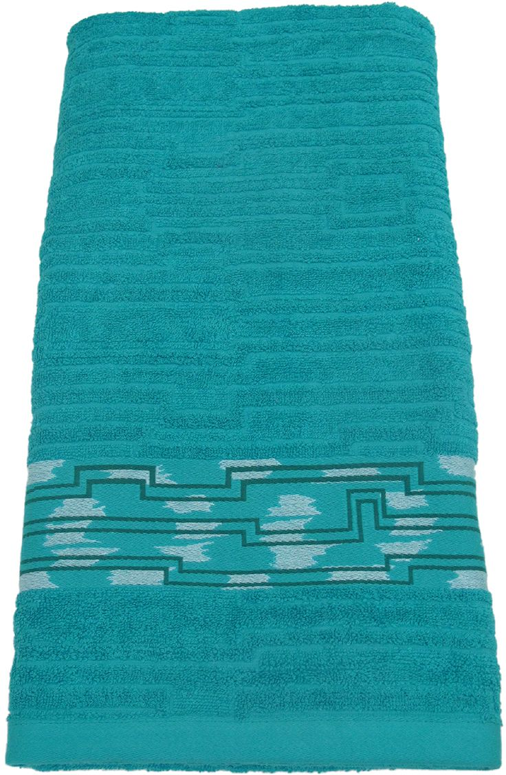Полотенце махровое НВ Нюанс, цвет: аква, 70 х 140 см. м0667_0984582