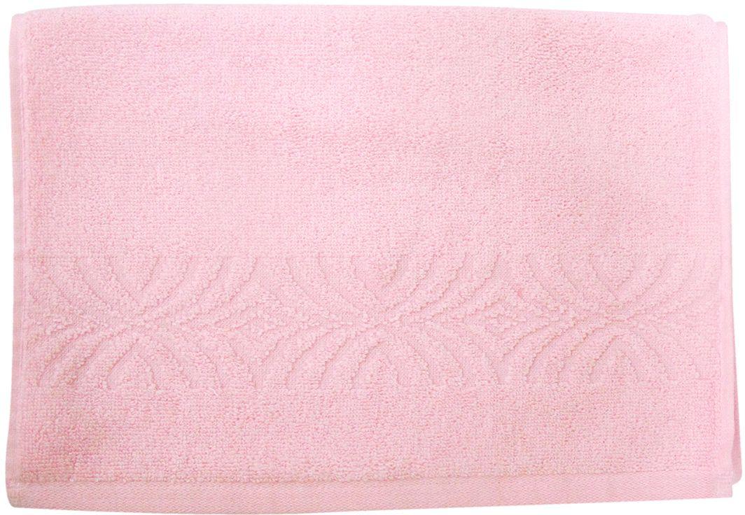 Полотенце махровое Bravo Комфорт, цвет: розовый, 33 х 70 см85503Полотенце Комфорт выполнено из натуральной махровой ткани (100% хлопок). Изделие отлично впитывает влагу, быстро сохнет, сохраняет яркость цвета и не теряет форму даже после многократных стирок. Полотенце очень практично и неприхотливо в уходе. Оно создаст прекрасное настроение и украсит интерьер в ванной комнате.
