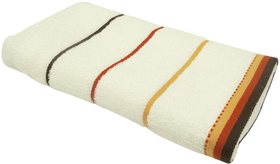 Полотенце махровое НВ Тренд, цвет: кремовый, 50 х 90 см. м0754_0487825Полотенце НВ Тренд выполнено из натуральной махровой ткани (100% хлопок) и дополнено принтом. Изделие отлично впитывает влагу, быстро сохнет, сохраняет яркость цвета и не теряет форму даже после многократных стирок. Полотенце очень практично и неприхотливо в уходе. Оно станет достойным выбором для вас и приятным подарком вашим близким.
