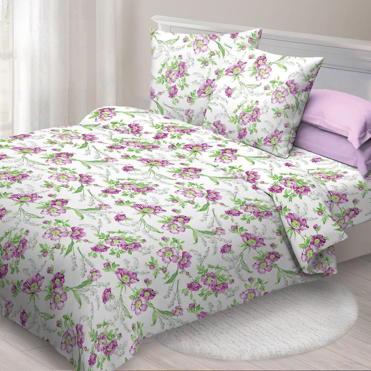 Комплект белья Спал Спалыч Монмартр, евро, наволочки 70x70, цвет: розовый недорогое