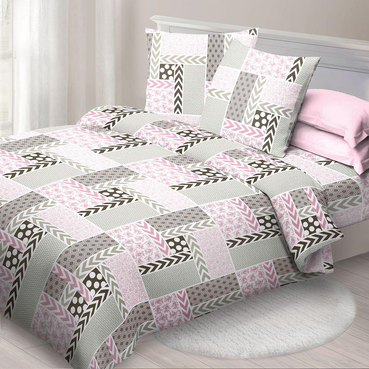 Комплект белья Спал Спалыч Палермо, 2-спальное, наволочки 70x70, цвет: розовый90881Спал Спалыч - недорогое, но качественное постельное белье из белорусской бязи. Актуальные дизайны, авторская упаковка в сочетании с качественными материалами и приемлемой ценой - залог успеха Спал Спалыча!В ассортименте широкая линейка домашнего текстиля для всей семьи - современные дизайны современному покупателю! Ткань обработана по технологии PERFECT WAY - благодаря чему, она становится более гладкой и шелковистой.• Бязь Барановичи 100% хлопок• Плотность ткани - 125 гр/кв.м.