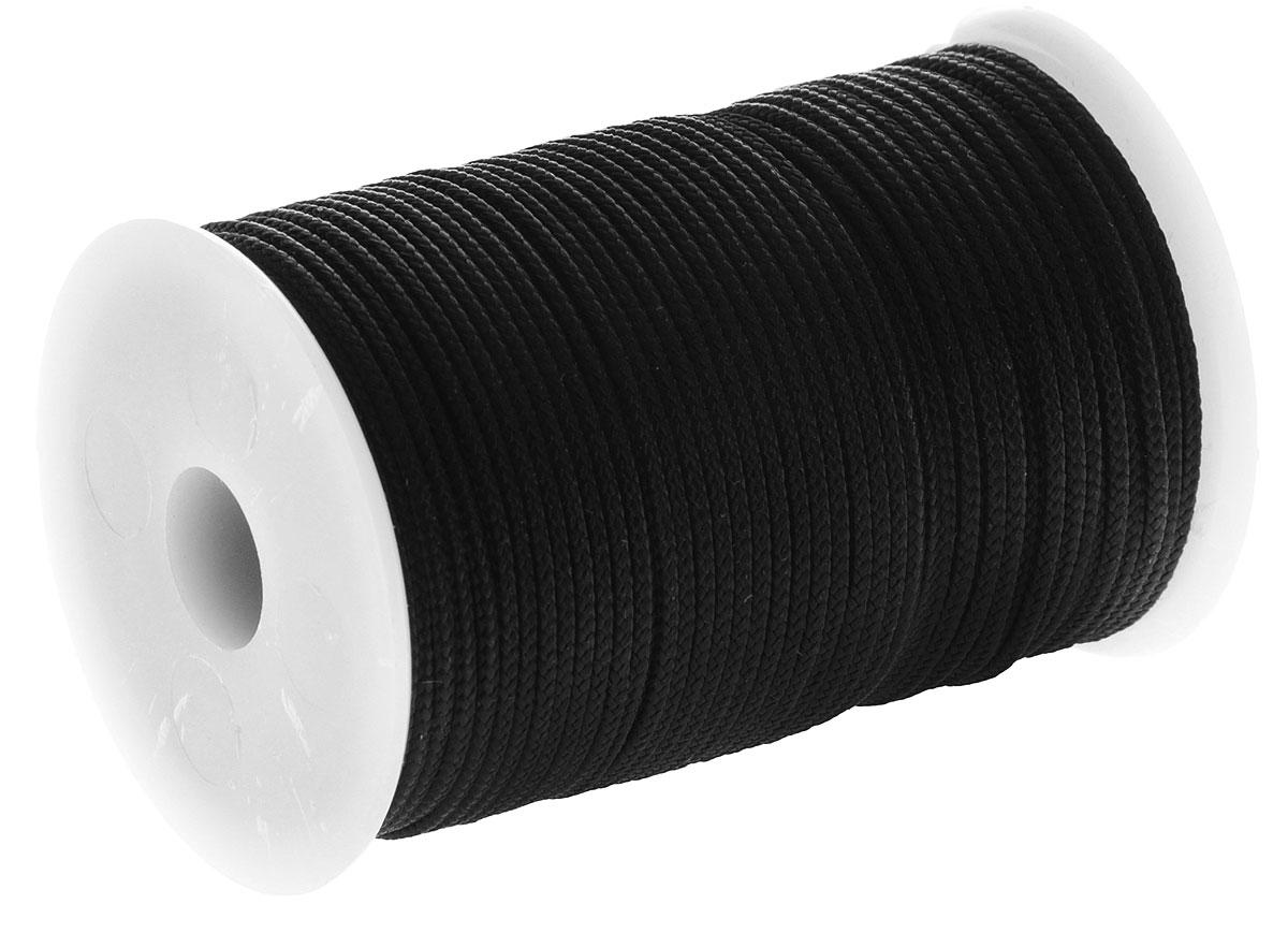 "Шнур полиамидный ""SOLARIS"" на катушке, цвет: черный, 1,8 мм х 40 м"