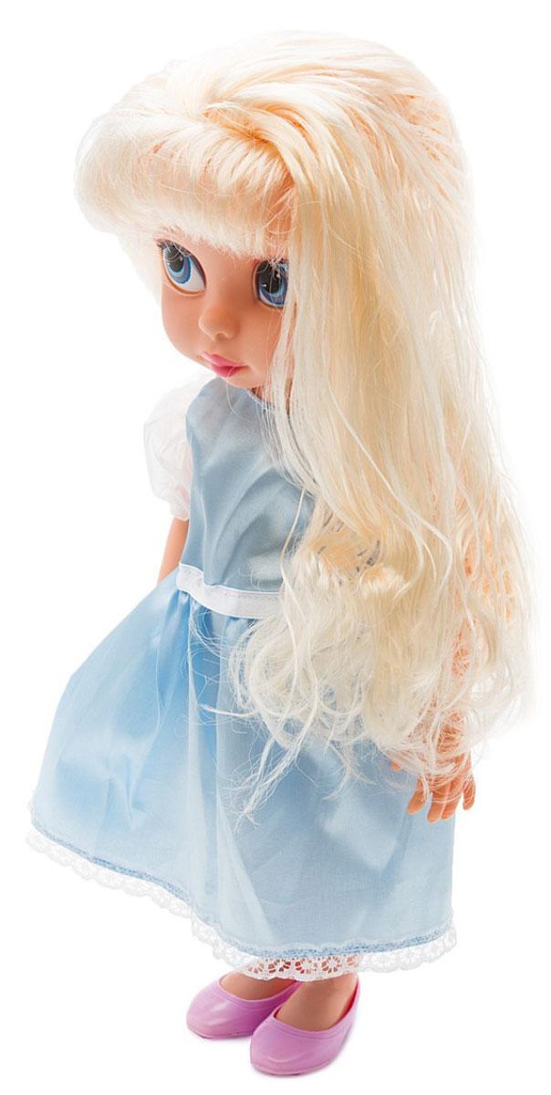1TOY Кукла озвученная Красотка цвет платья светло-голубой 1toy кукла красотка фэшн с одеждой цвет платья оранжевый