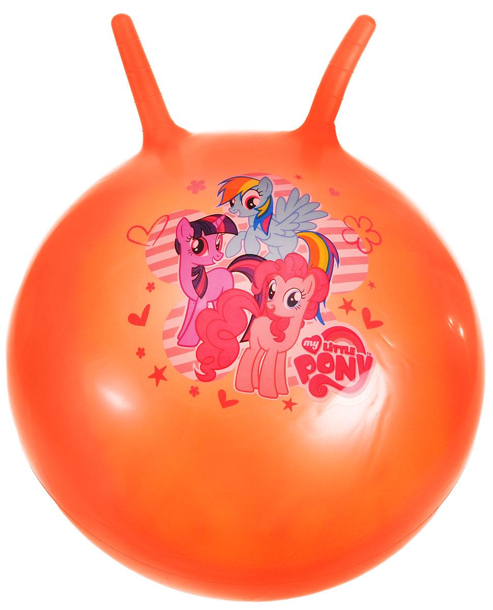 Играем вместе Мяч-прыгунок My Little Pony с рожками цвет оранжевый 55 см