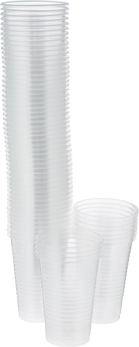 Стакан одноразовый Мистерия, цвет: прозрачный, 200 мл, 100 шт170217Стакан одноразового применения Мистерия изготовлен из качественного экологически чистого полипропилена. Планируя пикник, день рождения или другое семейное торжество, иметь под рукой одноразовую посуду действительно удобно. Особенность пластиковой посуды в том, что она равно пригодна как для холодных, так и горячих напитков.