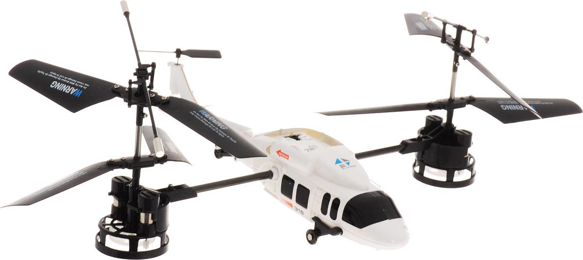 HappyCow Вертолет на радиоуправлении Magic цвет белый happycow