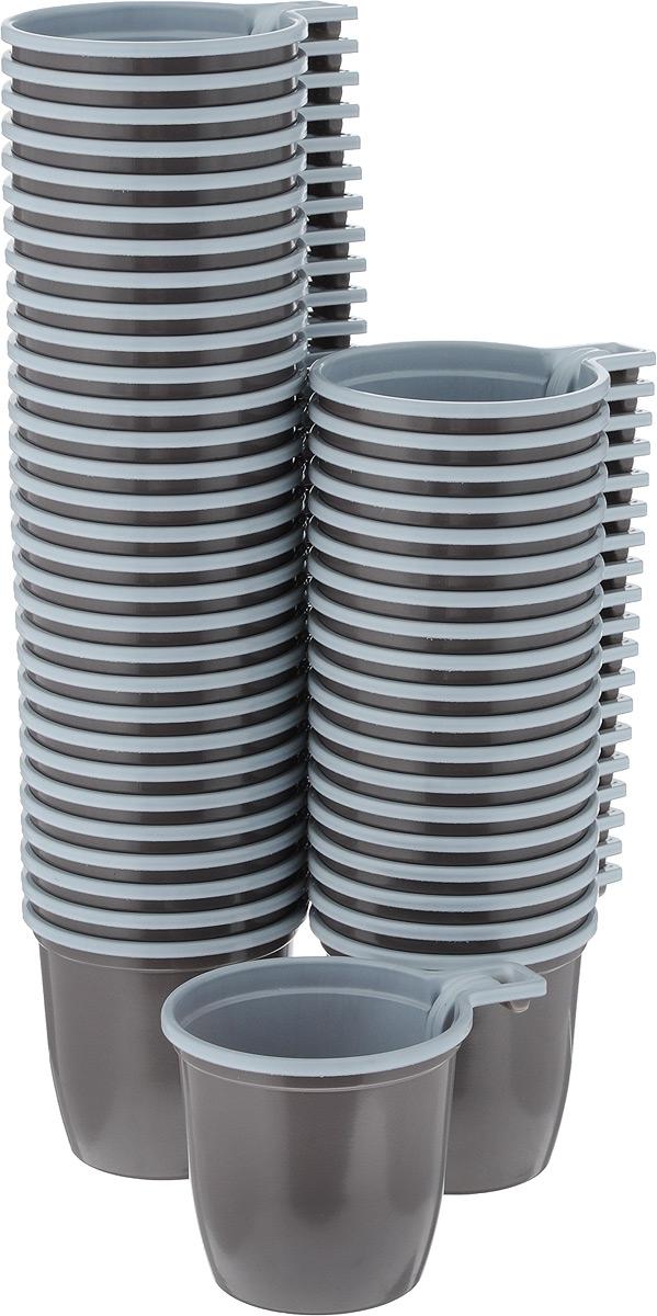 Набор одноразовых чашек ИНТЕКО, цвет: коричнево-белый, 50 штПОС08057Набор Интеко состоит из 50 чашек, выполненных из полипропилена. Набор предназначен для одноразового использования. Одноразовые чашки незаменимы в поездках на природу и на пикниках. Они не займут много места, легкие и прочные, а самое главное - после использования их не надо мыть.Объём чашки: 180 мл.