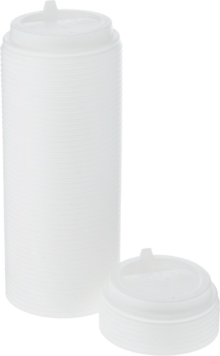 Крышка одноразовая Протэк Улыбайся, с носиком, цвет: белый, диаметр 8 см, 100 шт. ПОС31513ПОС31513Крышка одноразовая Протэк предназначена для пластиковых кружек и стаканчиков. Крышка плотно одевается на стакан и не допускает проливания жидкости. Изделие дополнено удобным носиком, через который можно пить, не снимая крышку со стакана.