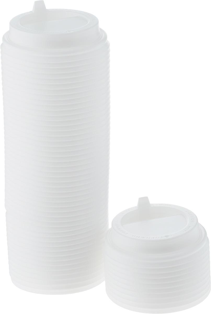 Крышка одноразовая Протэк, с носиком, цвет: белый, диаметр 8 см, 100 шт. ПОС26656ПОС26656Крышка одноразовая Протэк предназначена для пластиковых кружек и стаканчиков. Крышка плотно одевается на стакан и не допускает проливания жидкости. Изделие дополнено удобным носиком, через который можно пить, не снимая крышку со стакана.