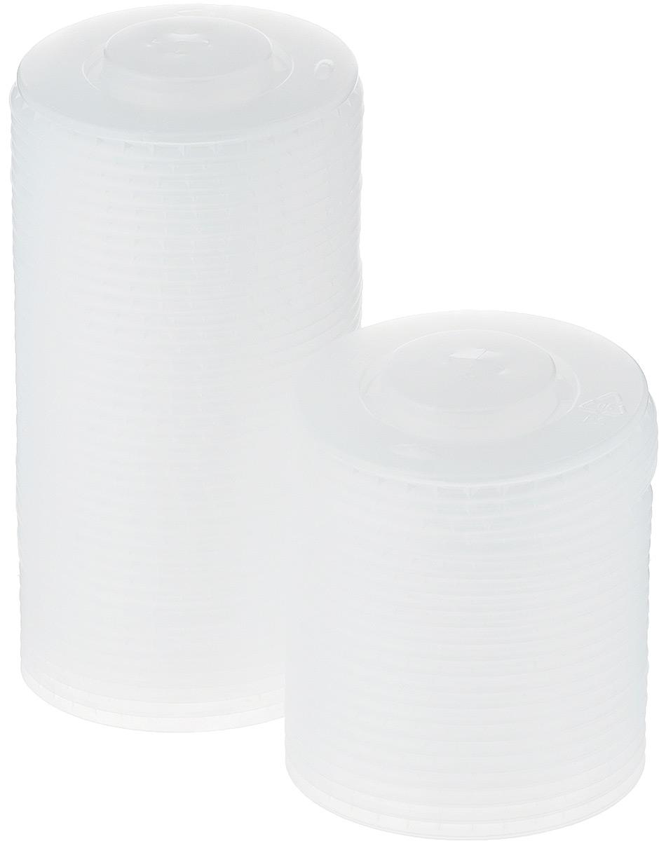 """Крышка одноразовая """"Huhtamaki"""" предназначена для пластиковых стаканчиков. Крышка плотно одевается на стакан и не допускает проливания жидкости. В центре имеется крестообразный разрез для трубочки."""